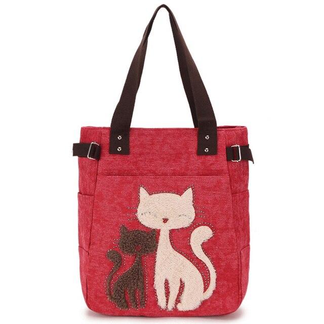 Bag Women Shoulder Bags Female Cute Cat