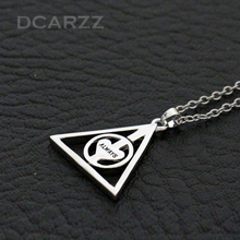 Harry Potter After all this Time?Always.Necklace Rotate Deathly Hallows Pendant Friendship Valentine Gift Best Friend Necklace(China (Mainland))