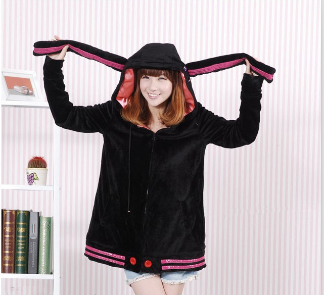 JP Anime Hatsune Miku Vocaloid 3 Costumes Women Hoody Coat Cosplay Clothing
