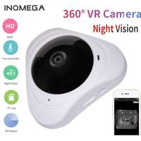INQMEGA 960P IP Camera WIreless 3D VR 360 Degree Panoramic FIsheye 1.3MP Home Security SurveillanceSmart wifi Cam YOOSEE