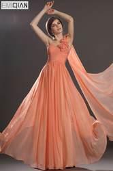Бесплатная доставка Новые Удивительные одно плечо Милая декольте плиссированные лиф платье подружки невесты