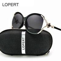 3c4c9cdf4b93 LOPERT Ladies Polarized Cat Eye Sunglasses Women Luxury Brand Driving Glasses  Female Retro Fashion Style Sun