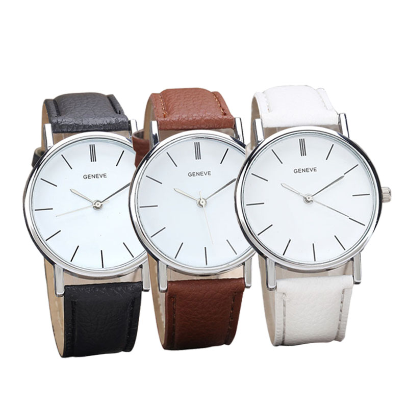 все цены на  Fashion CLOCK Watch Womens Retro Design Leather Band Analog Alloy Quartz Wrist Watches Relogio feminino Montre Femme 2016 New  в интернете