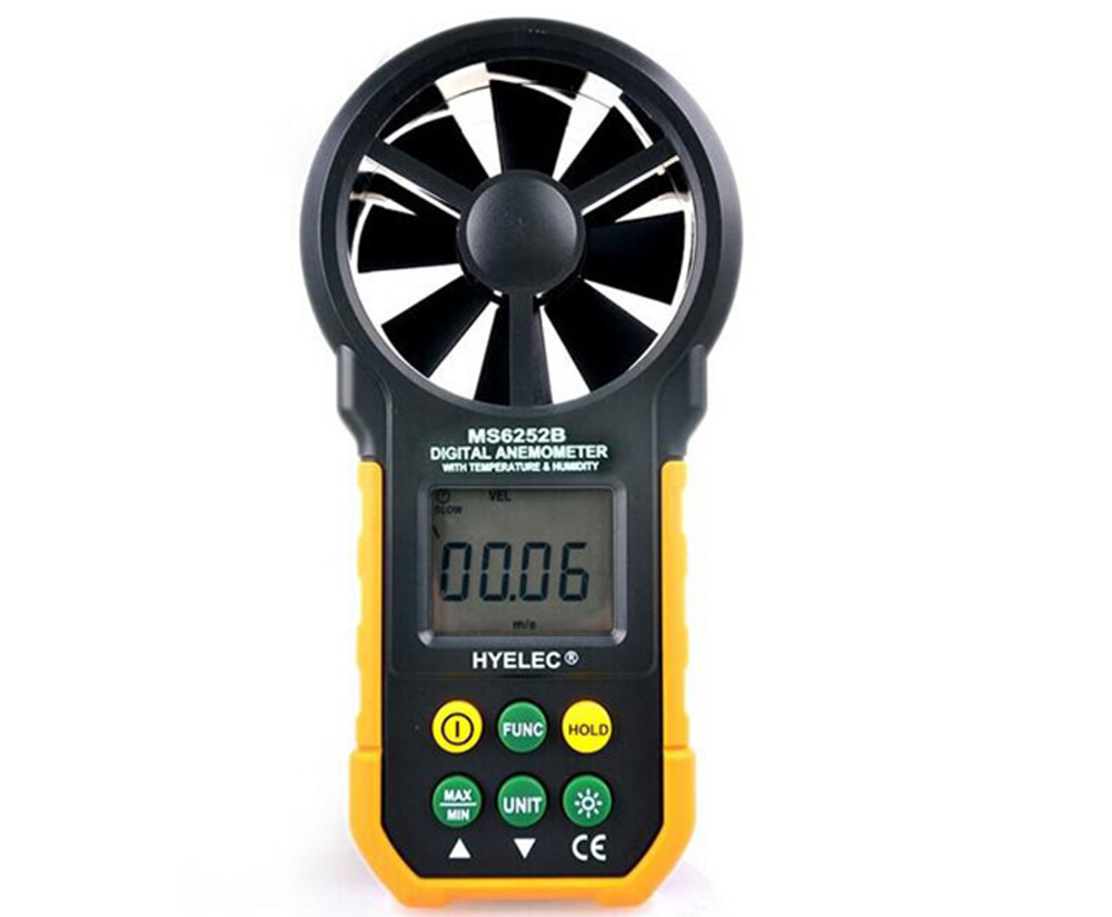 Professional Digital Anemometer / Air Volume / Temperature / Humidity Multifunction Wind Speed Meter Air Flow Meter st 8022 st8022 temperature humidity wind meter anemometer