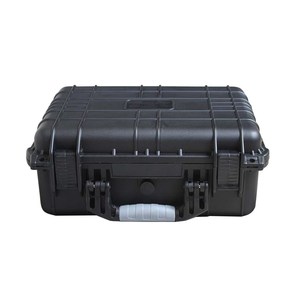 Vetrina impermeabile interna resistente agli urti in plastica dura 371 * 258 * 152 mm con rivestimento in spugna