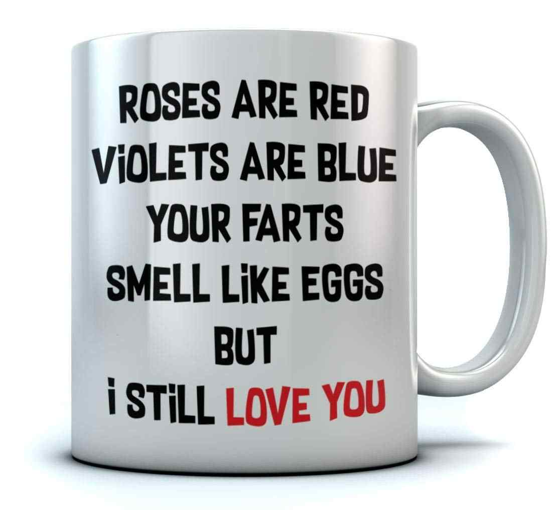 Funny Valentines Roses Are Red Coffee Mug