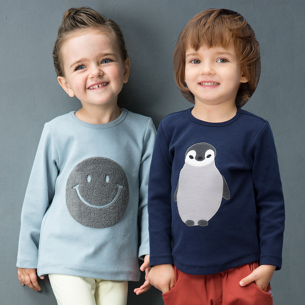 YINGZIFANG nuevo otoño niñas niños camisetas de manga larga Unisex niño ropa Casual algodón bebé infantil niños camisetas