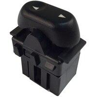 One Button Power Window Switch Black Replaces # 5L1Z-14529-BA T31