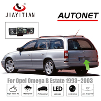 JiaYiTian Rearview Camera For Opel Omega B2 Caravan Estate 1993~2003 Reverse camera Backup CCD Night Vision license plate camera