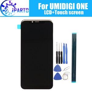 Image 1 - 5,9 zoll UMIDIGI EINEM LCD Display + Touch Screen 100% Original Getestet LCD Digitizer Glas Panel Ersatz Für UMIDIGI EIN