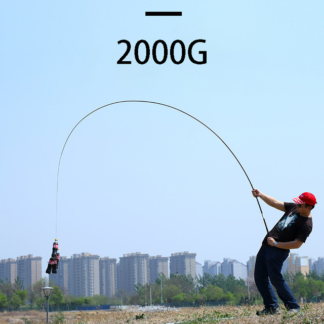 Best No1 Telescopic Fishing Rod High Quality Carbon Fiber Fishing Rods cb5feb1b7314637725a2e7: Yellow