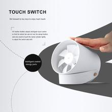 Portable Creative Smart Touch Ultra Mini Quiet USB Desk Fan