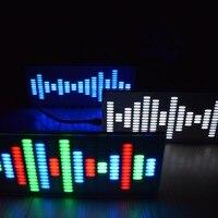 New Arrival DIY Big Size Touch Control 225 Segment LED Digital Equalizer Music Spectrum Sound Waves