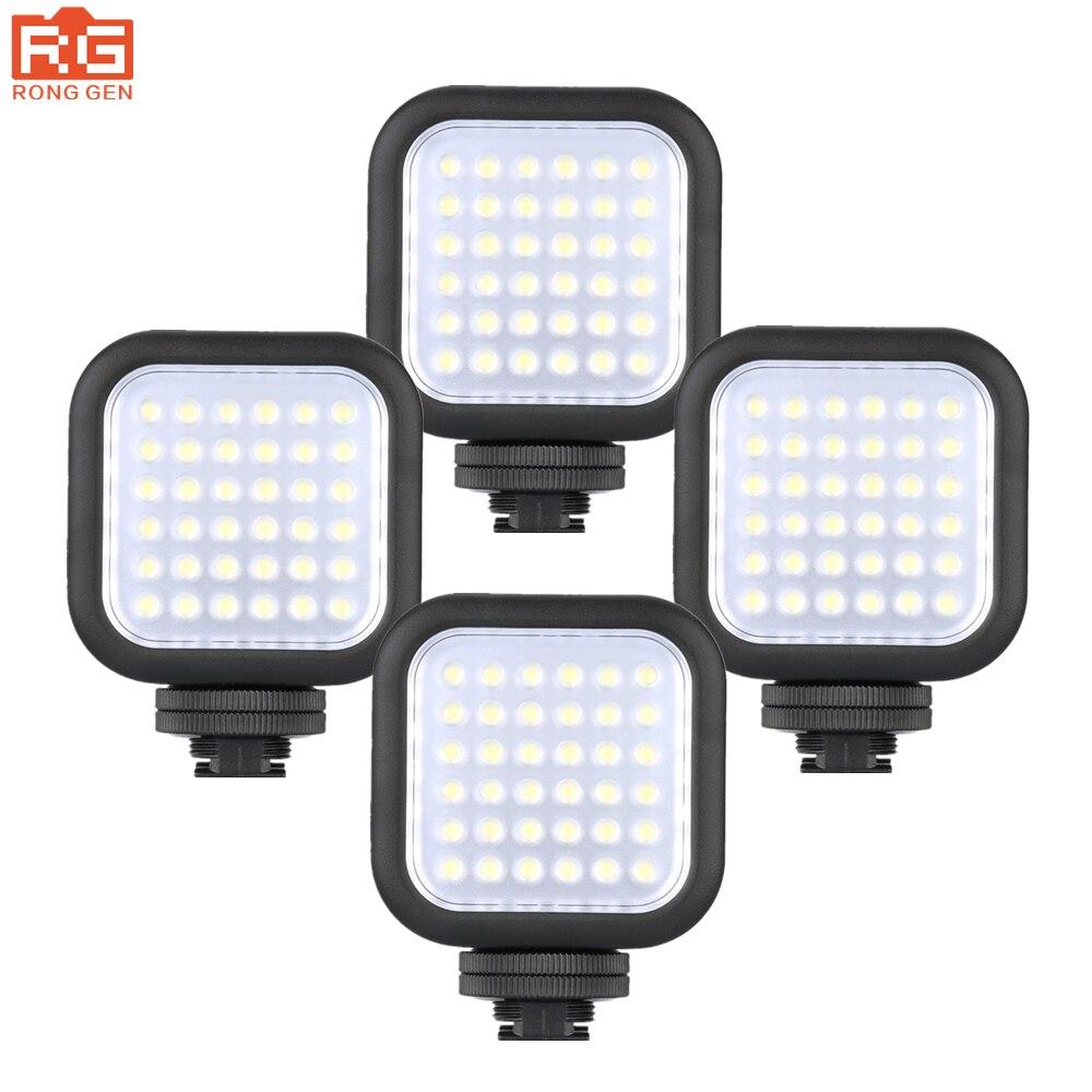 4PCS Godox LED36 LED Video Light Interlocking design for multi-lamp array Photography lights for DSLR Camera Camcorder mini DVR godox professional led video light