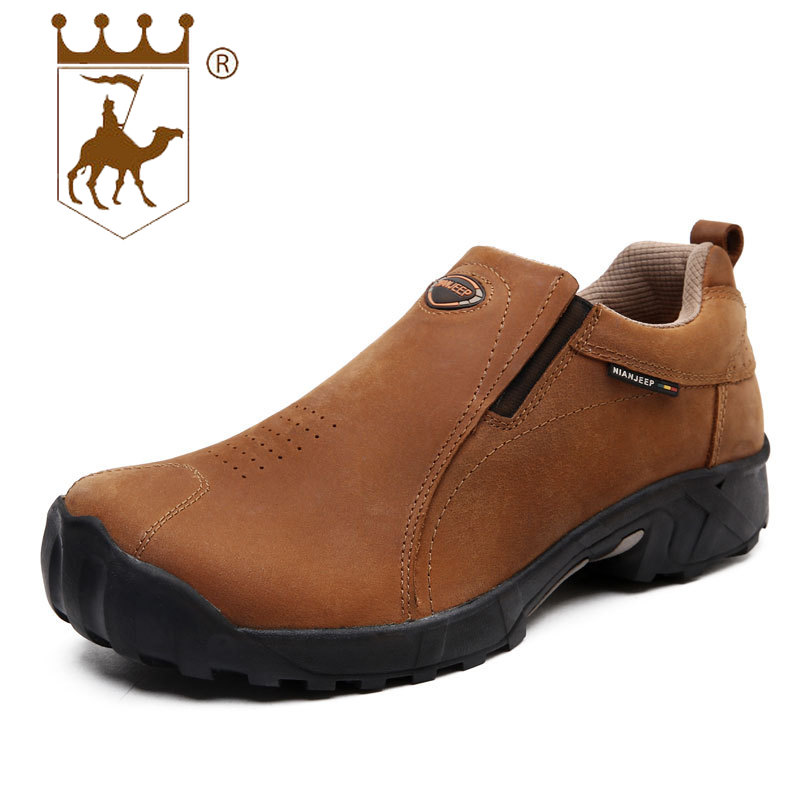 Tooling shoes low top thick-soled casual shoes men's leather wear men's shoes outdoor footwear winter boots men