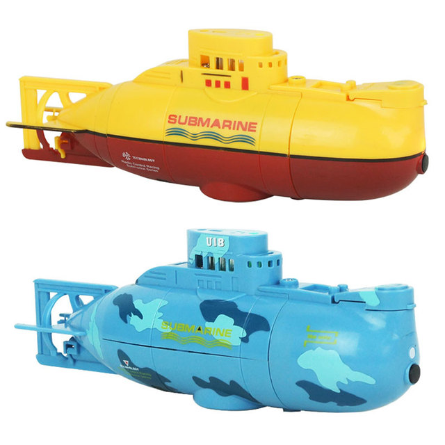 6CH High Speed Radio Remote Control Electric Mini RC Boat Toy