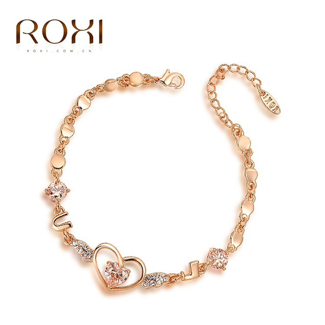 Roxi Best Gift For Girlfriend Genuine Austrian Crystals Sales Rose
