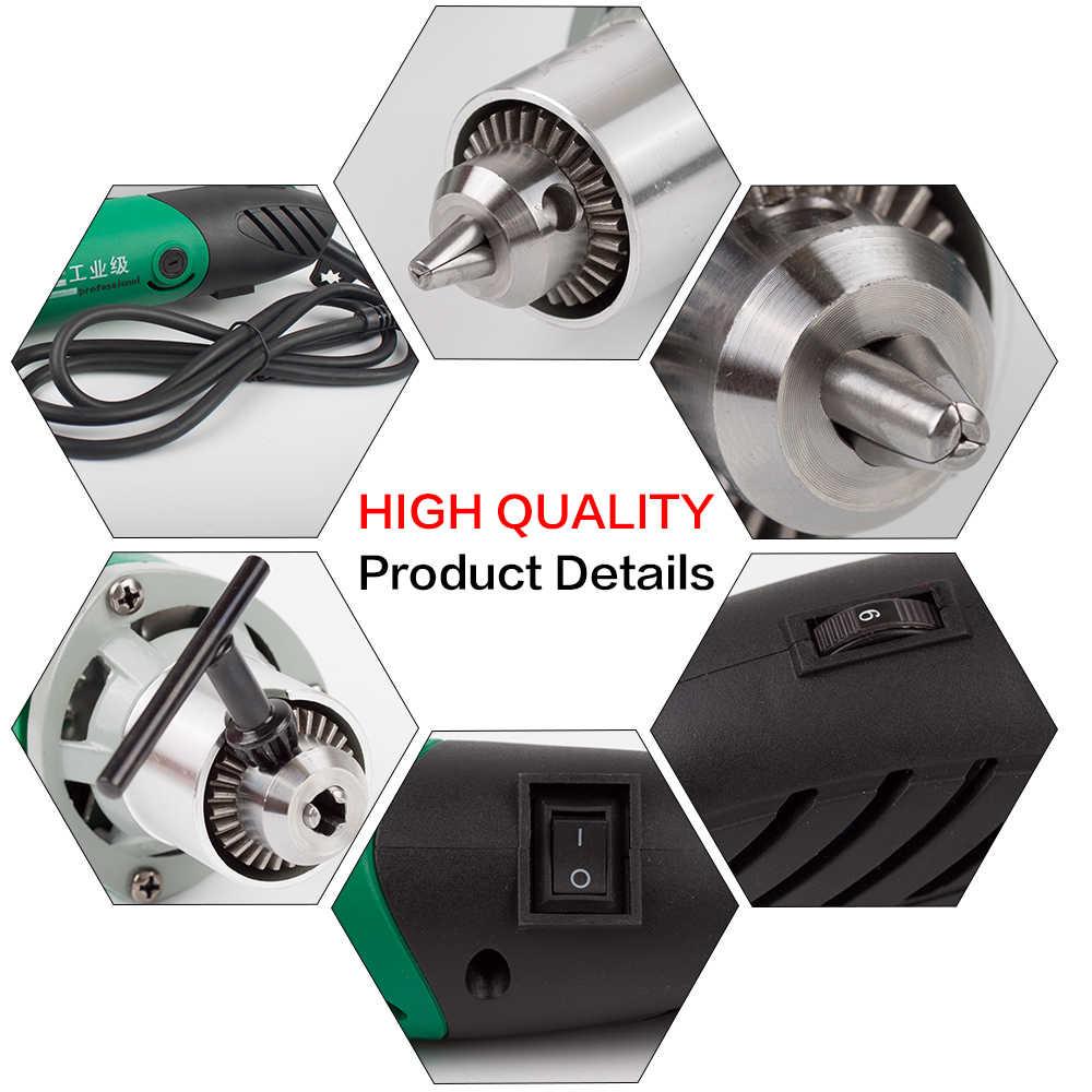 480 W/180 W 2 Stile Trapano Elettrico 6 Posizione Variabile Velocità di Rotazione Utensile Mini Grinder Per Dremel Grind metallo Strumenti Trapano Elettrico