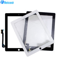 New Touch Screen Digitizer Front Touch Panel Glass Lens For IPad 2 3 4 TouchScreen Replacement