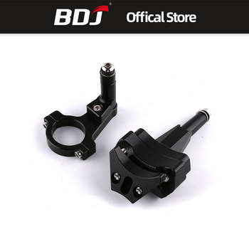 BDJ For Kawasaki Ninja 400 2018 Motorcycle Accessories CNC Aluminum Alloy Steering Damper Stabilizer Mounting Bracket Kits