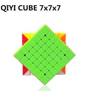 Image 2 - Qiyi Qixing S 7X7X7 Magische Snelheid Stickerloze Kubus Professionele Puzzel Cubes Brain Teaser Volwassen Draaien Soepel speelgoed Voor Kinderen