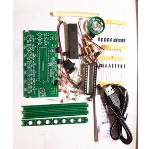 Image 2 - Набор «сделай сам» C51 MCU Laser Harp Kit String DIY Keyboard Kit электронные детали 7 струн электронный набор «сделай сам» технология фортепиано Музыкальная шкатулка