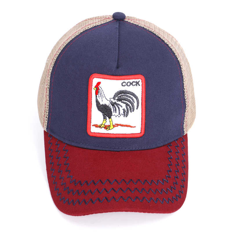 74796ff310dc3 ... New baseball cap comfortable and breathable adjustable cock animal  embroidery men and women general work fine ...