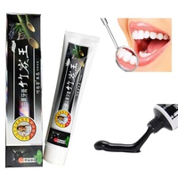 2017 Newest Charcoal Toothpaste Whitening Black Bamboo Charcoal Toothpaste Oral Hygiene Teeth Care