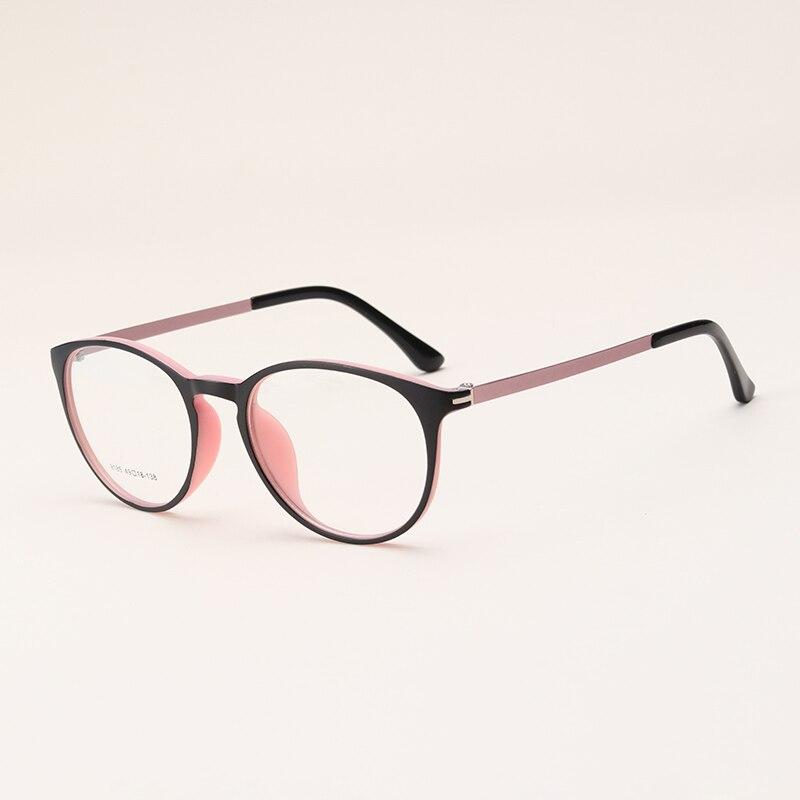 Brillen TR90 Gläser Rahmen Frauen Klar Mode Trendy Oval Optische ...