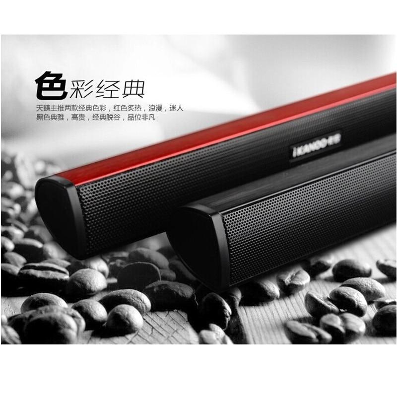 Hot Ikanoo Brand Usb Laptop Portable Computer Speaker Audio Soundbar Mini Speakers Sound Bar To Pc In From