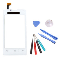 Original Replacement White Digitizer Touch Screen Panel Free Tool For Huawei Ascend Y300 U8833 Dropshipping