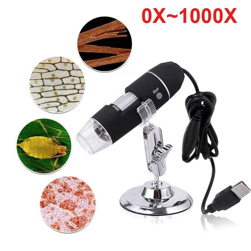 1000X Hand Held Endoscope Durable Monitoring Digital Microscope Waterproof Ear Cleaning Tool Endoscope