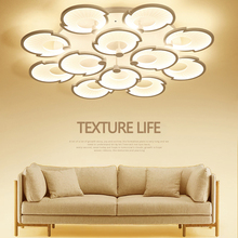 Nordic led lamps modern minimalist atmosphere creative romantic warm shell-shaped bedroom living room interior lamp ceiling lamp