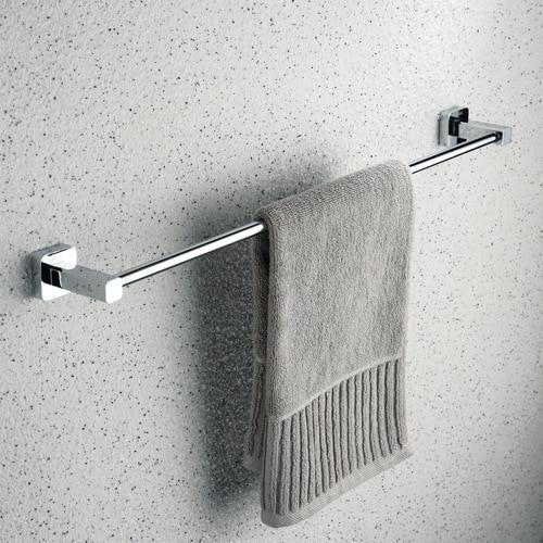 Polished Modern Fixed Bath Towel Bar Copper Fasion Brass 60cm ...