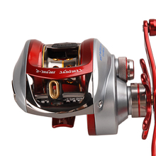 Saltwater Baitcasting Fishing Reel 4+1BB/7.1:1 Light Anti-Corrosive 215g Molinete Peche Carretilha Carretes Pesca Round Wheel