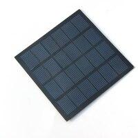 Wholesale! 6V 1.5W 250MA Mini PET Solar Panels Solar Power 3.6V Battery Charge Solar Cell 110* 110*2MM 50pcs/lot Free Shipping