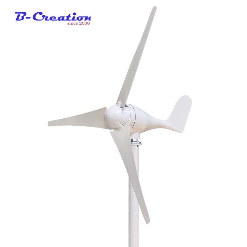 200w Generator Wind Turbine Generator max 300w 12v/24v 2.0m/s Low Speed Start,3/5 Blade 650mm, With 300W Charge Controller 200w generator wind turbine generator max 300w 12v 24v 2 0m s low speed start 3 5 blade 650mm with 300w charge controller