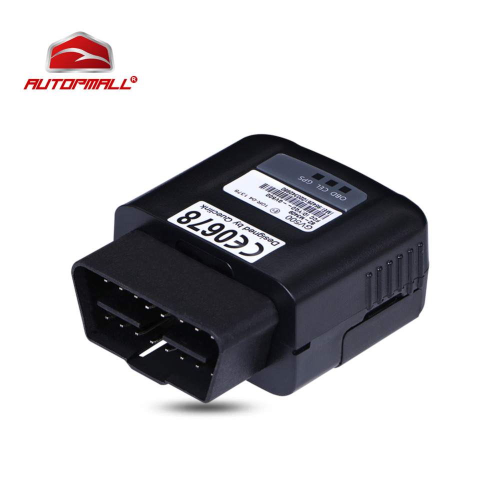 OBD Tracker GV500 GSM GPS GPRS OBD Vehicle Tracking Device OBDII 130mAh Li-Polymer 8-32V Realtime Vehicle Status Monitoring