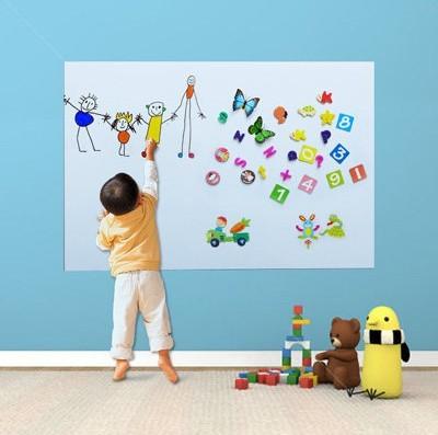45x60cm flexible vinyl whiteboard wall sticker memo home office
