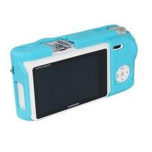 حافظة كاميرا من السيليكون لهواتف سامسونج NX500 من مطاط السيليكون الناعم