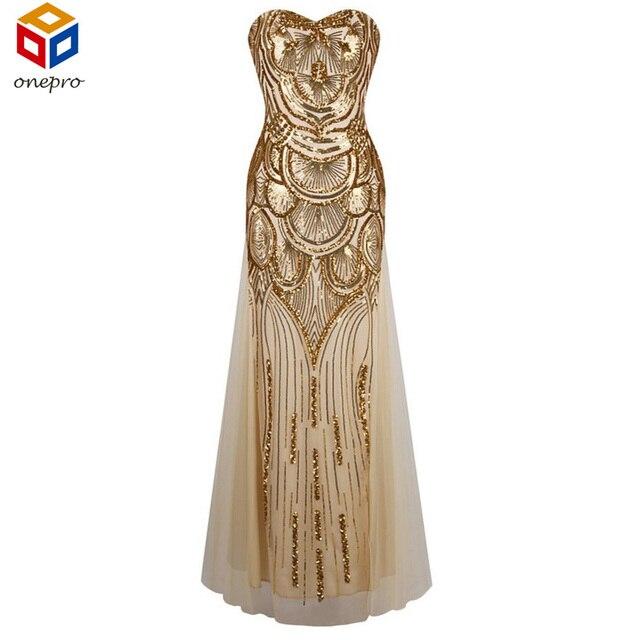 1920 s Длинные Бретелек Золото С Плеча Dress Art Deco Гэтсби Vintage Платье Блестками Сияющий Sexy Party Платье С Ручной ремни