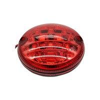 1PCS 9 33V Universal Red Led Rear Car Fog Lamp Waterproof Brake Stop Light Daytime Car