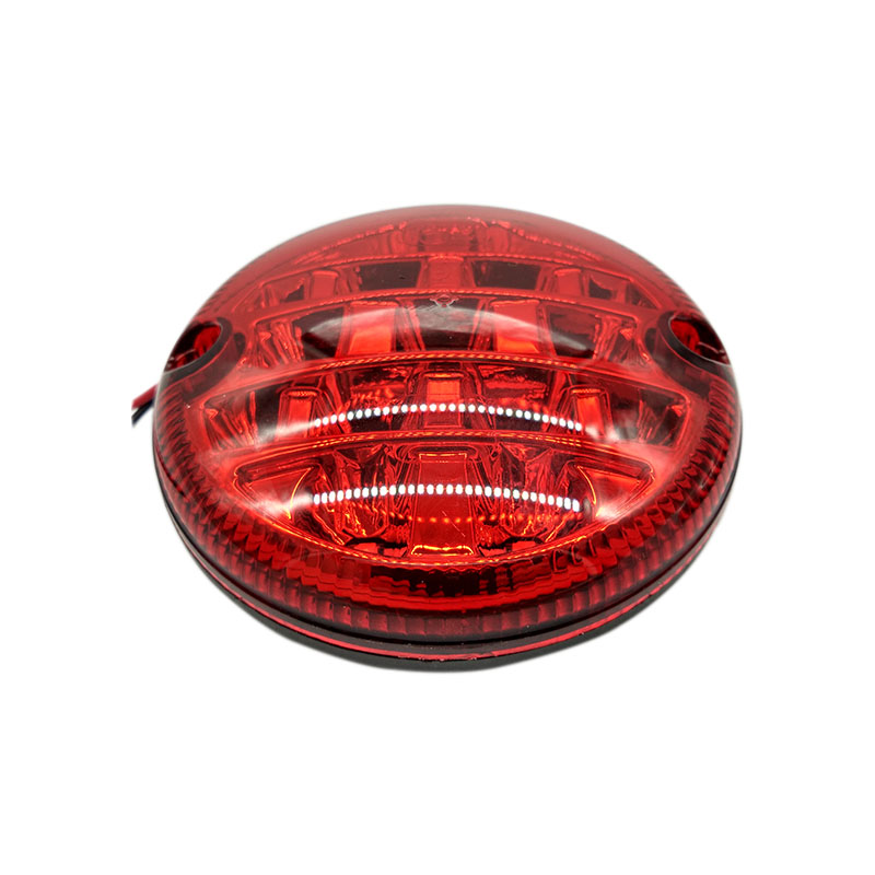 1PCS 12V/24V LED 95mm Waterproof Red Rear Car Fog Lights High Quality Fog Lamp Universal