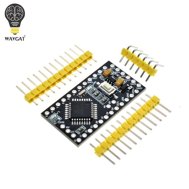 WAVGAT Pro Mini ATMEGA328P 328 Mini ATMEGA328 5 v 16 mhz per arduino Nano Microcontrol Micro Scheda di Controllo