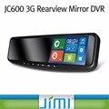 5 polegadas em Clipe universal 3G Android GPS Navegação GPS Tracker telefone Bluetooth HD 1080 P Espelho Retrovisor DVR Monitor de toque