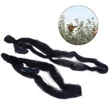 Black Nylon Anti Bird Net Netting Mesh For Fruit Crop Plant Tree Bird-Preventing Netting Garden Netting Huerto 6mx2m/8mx3m