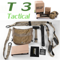 Fitness Workout Suspension Trainer Kit T3 Tactical Band Yoga Belts Army Training resistance Straps Body Building Gym Equipment