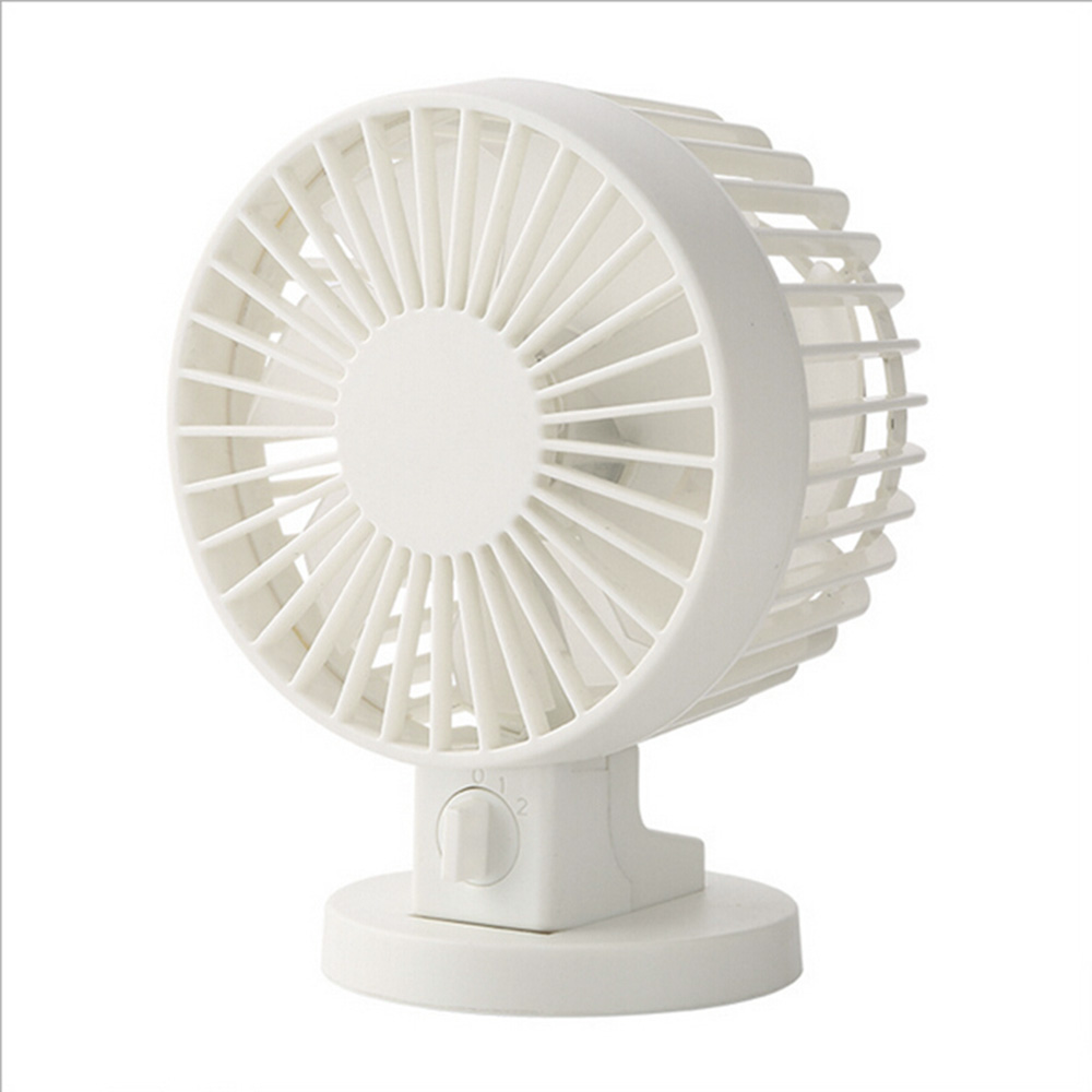 цена Double-vane Mini USB Fan cool wind For Office for Home Portable Computer PC Fan Electric Laptop Fan With Double Side Fan Blades