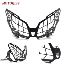 motorcycle accessory Grille Headlight Front Headlight Guard Cover Lens Protector for YAMAHA FJ-09 TRACER 900 MT-09 TRACER 15-19