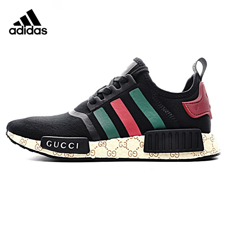 Original New Arrival Authentic Adidas P1 Custom <font><b>Gucci</b></font> Men's & Women's Running <font><b>Shoes</b></font> Sport Outdoor Sneakers Good Quality 675001